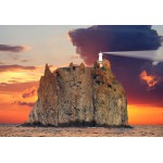 Puzzle  Grafika-Kids-00413 XXL Pieces - Stromboli Lighthouse, Italy