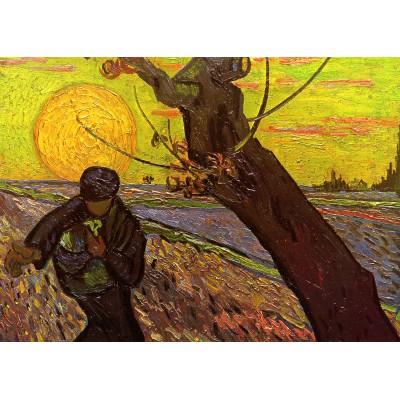 Puzzle Grafika-Kids-00421 Magnetic Pieces - Van Gogh : The Sower, 1888