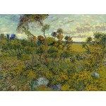 Puzzle  Grafika-Kids-00423 Van Gogh: Sunset at Montmajour, 1888
