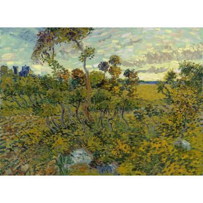 Puzzle Grafika-Kids-00423 Van Gogh: Sunset at Montmajour, 1888
