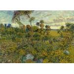 Puzzle  Grafika-Kids-00426 Magnetic Pieces - Van Gogh: Sunset at Montmajour, 1888