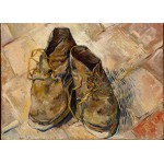 Puzzle  Grafika-Kids-00436 Magnetic Pieces - Van Gogh: Shoes, 1888