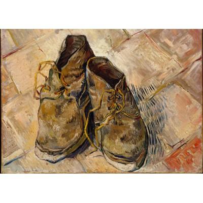 Puzzle Grafika-Kids-00436 Magnetic Pieces - Van Gogh: Shoes, 1888
