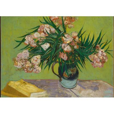 Puzzle Grafika-Kids-00441 Magnetic Pieces - Van Gogh: Oleanders,1888