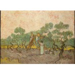 Puzzle  Grafika-Kids-00446 Magnetic Pieces - Van Gogh: Women Picking Olives,1889