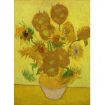 Puzzle  Grafika-Kids-00448 Van Gogh: Sunflowers,1889