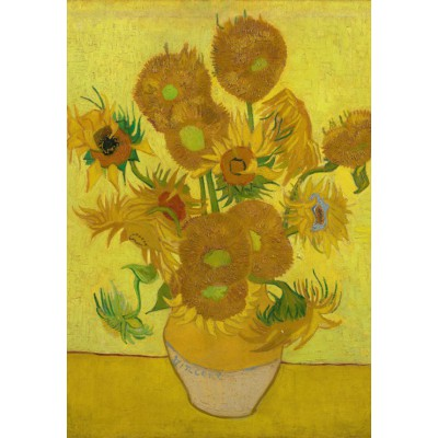 Puzzle Grafika-Kids-00449 Van Gogh: Sunflowers,1889