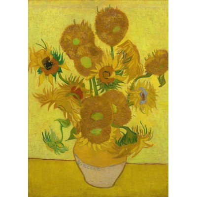 Puzzle Grafika-Kids-00451 Magnetic Pieces - Van Gogh: Sunflowers,1889
