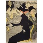 Puzzle  Grafika-Kids-00455 Magnetic Pieces - Henri de Toulouse-Lautrec: Divan Japonais, 1892-1893