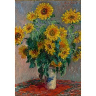 Puzzle Grafika-Kids-00457 Claude Monet: Bouquet of Sunflowers, 1881