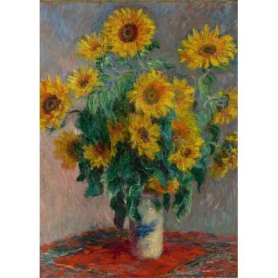 Puzzle Grafika-Kids-00459 Magnetic Pieces - Claude Monet: Bouquet of Sunflowers, 1881