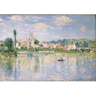 Puzzle Grafika-Kids-00462 Claude Monet: Vétheuil in Summer, 1880