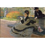 Puzzle  Grafika-Kids-00470 XXL Pieces - Claude Monet: Camille Monet, 1873