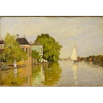 Puzzle  Grafika-Kids-00484 XXL Pieces - Claude Monet: Houses on the Achterzaan, 1871