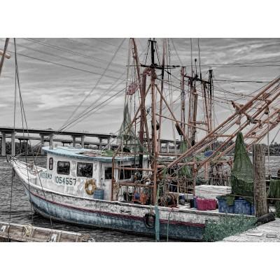 Puzzle Grafika-Kids-00565 Fishing Boat