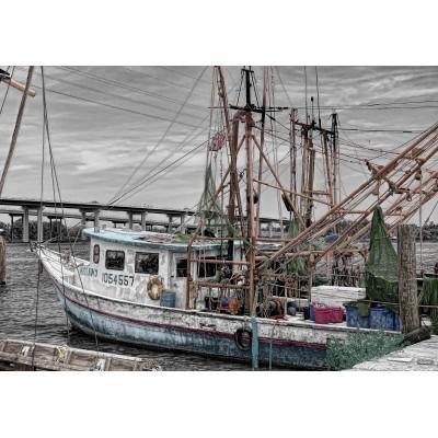 Puzzle Grafika-Kids-00566 Fishing Boat