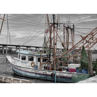 Puzzle Grafika-Kids-00567 Fishing Boat