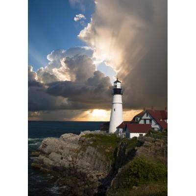 Puzzle Grafika-Kids-00587 Magnetic Pieces - Lighthouse