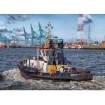 Puzzle  Grafika-Kids-00598 Tugboat in Antwerp