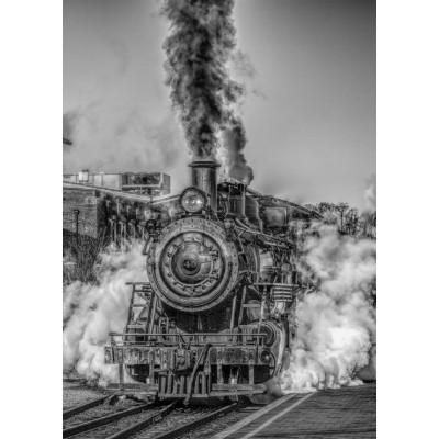Puzzle Grafika-Kids-00613 Magnetic Pieces - Steam Train
