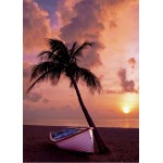 Puzzle  Grafika-Kids-00623 Magnetic Pieces - Sunset in Paradise