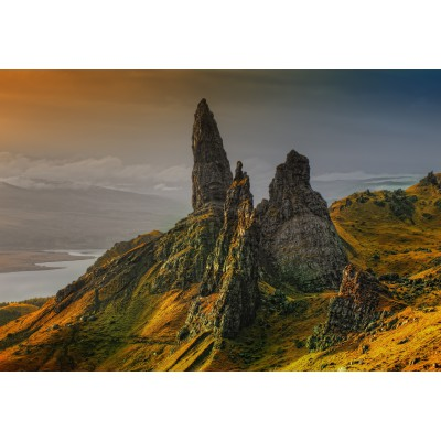 Puzzle Grafika-Kids-00649 XXL Pieces - Skye Island, Scotland