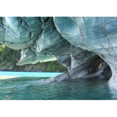 Puzzle Grafika-Kids-00668 Magnetic Pieces - Blue Marble Cave, Chile