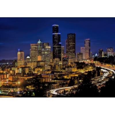 Puzzle Grafika-Kids-00677 Seattle by Night