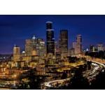 Puzzle  Grafika-Kids-00678 Seattle by Night