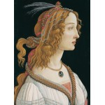 Puzzle  Grafika-Kids-00694 Sandro Botticelli: Portrait of a young Woman, 1494