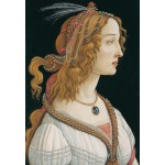 Puzzle  Grafika-Kids-00695 Sandro Botticelli: Portrait of a young Woman, 1494