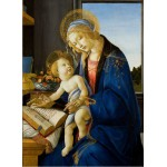 Puzzle  Grafika-Kids-00696 Sandro Botticelli: The Madonna of the Book, 1480