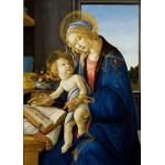 Puzzle  Grafika-Kids-00699 Magnetic Pieces - Sandro Botticelli: The Madonna of the Book, 1480