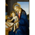 Puzzle  Grafika-Kids-00700 XXL Pieces - Sandro Botticelli: The Madonna of the Book, 1480