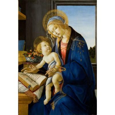 Puzzle Grafika-Kids-00700 XXL Pieces - Sandro Botticelli: The Madonna of the Book, 1480