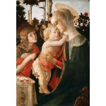 Puzzle  Grafika-Kids-00703 Sandro Botticelli: Virgin and Child with Young St John the Baptist, 1470-1475