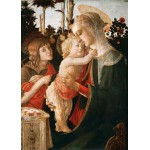 Puzzle  Grafika-Kids-00705 Magnetic Pieces - Sandro Botticelli: Virgin and Child with Young St John the Baptist, 1470-1475