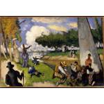 Puzzle  Grafika-Kids-00708 Paul Cézanne: The Fishermen (Fantastic Scene), 1875