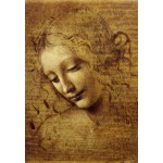 Puzzle  Grafika-Kids-00712 Leonardo da Vinci : The Face of Giovane Fanciulla, 1508