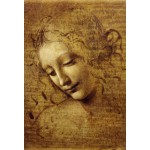 Puzzle  Grafika-Kids-00715 XXL Pieces - Leonardo da Vinci : The Face of Giovane Fanciulla, 1508