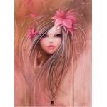 Puzzle  Grafika-Kids-00722 Misstigri: Sweet Pinky Girl