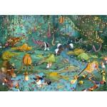 Puzzle  Grafika-Kids-00805 Magnetic Pieces - François Ruyer: Jungle