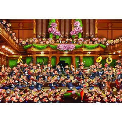 Puzzle Grafika-Kids-00812 XXL Pieces - François Ruyer: Orchestra