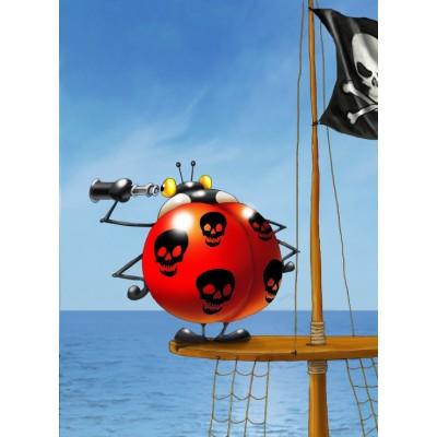 Puzzle Grafika-Kids-00838 François Ruyer: Pirate