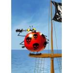 Puzzle  Grafika-Kids-00839 François Ruyer: Pirate