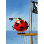 Puzzle  Grafika-Kids-00841 Magnetic Pieces - François Ruyer: Pirate