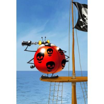 Puzzle Grafika-Kids-00842 XXL Pieces - François Ruyer: Pirate