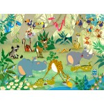 Puzzle  Grafika-Kids-00868 François Ruyer: Jungle