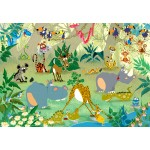 Puzzle  Grafika-Kids-00872 François Ruyer: Jungle