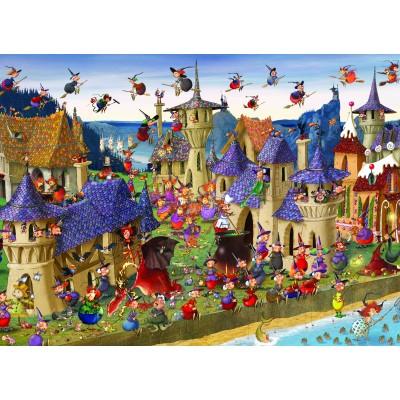 Puzzle Grafika-Kids-00879 François Ruyer: Witches